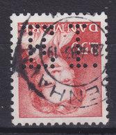 Denmark Perfin Perforé Lochung (E13) 'E.I.' Emil Jensen, København - Abarten Und Kuriositäten