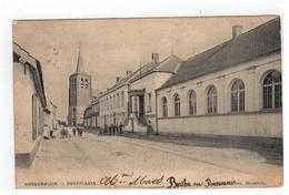 Noorderwijk - Norderwijck - Dorpplaats 1906 (plooi Li Van Boven Naar Onder) - Herentals
