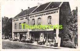 CPA CHAMP DE BATAILLE DE WATERLOO HOTEL DES MONUMENTS BRAINE L'ALLEUD JOSEPH DOOMS - Eigenbrakel