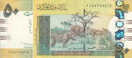 SUDAN 50 POUNDS 2006  P-66 VF CRISP REPLACEMENT EJ 04743212  /* - Soudan