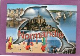 NORMANDIE MULTIVUES DAUPHIN MONT ST MICHEL ETRETAT HONFLEUR - Unclassified