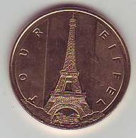 (Medailles). Monnaie De Paris. Tour Eiffel..2015 - Monnaie De Paris