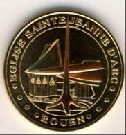 (Medailles). Monnaie De Paris. Rouen Eglise Sainte Jeanne D' Arc 2007 - Monnaie De Paris