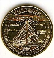 (Medailles). Monnaie De Paris Vulcania 2009 & Dragon Ride 2009 - Monnaie De Paris