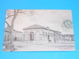 81 ) Saint-sulpice  - N° 658 - La Halle  : Année 1907 : EDIT : Labouche - Saint Sulpice