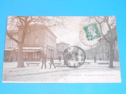 81 ) Saint-sulpice-la-pointe - Promenade Et Avenue De La Gare   : Année 1925 : EDIT : S.F - Saint Sulpice