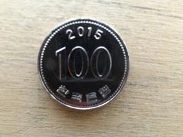 Koree Du Sud  100  Won  2015  Km !!! Neuve - Korea, South