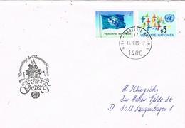30010. Carta Vereinten Nationen WIEN (austria) ONU 1985. GRATZ 85 - UNO