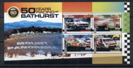 Australia 2012 Bathurst 50 Years Of Racing MS MUH - 2010-... Elizabeth II