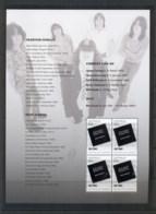 Australia 2013 Australian Legends Of Music, AC-DC Prestige Booklet Pane MUH - 2010-... Elizabeth II