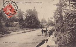 Rouelles : Route Du Havre - France