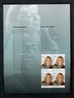 Australia 2013 Australian Legends Of Music, Olivia Newton John Prestige Booklet Pane MUH - Nuevos