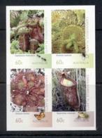 Australia 2013 Carnivorous Plants P&S Blk4 MUH - 2010-... Elizabeth II