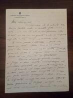 Antico Piego.Lettera Comando Sottozona Giofra (regione Del Fezzan/Libia) 1932 - Historische Documenten