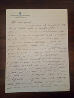 Antico Piego.Lettera Comando Sottozona Giofra (regione Del Fezzan/Libia) 1932 - Documentos Históricos