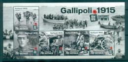 Australia 2015 WWI Centenary, Gallipoli MS MUH - 2010-... Elizabeth II