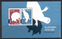 Australia 2016 Australian Animals Monotremes Internationals MS MUH - 2010-... Elizabeth II