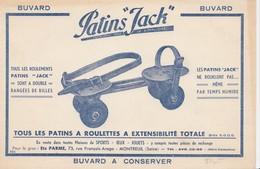 ( BUVARD ) PATINS  JACK Tous Les Patins A Roulettes A Extensibilité Totale (b Bur) - Sports