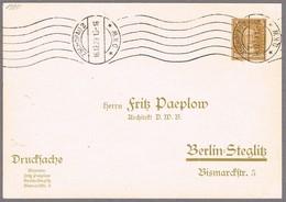 Deutschland Zschopau 2 1923 GSK Maschinenwerbestempel - D K W - - Automobili