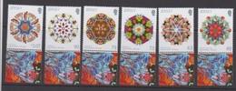 Jersey 2017 - Kaleidoscopes Set Of 6 - Unmounted Mint NHM - Jersey