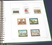 Fogli D'album King Italia Per Quartine Di Francobolli, Annate Complete Dal 1960 Al 1985. - Boites A Timbres