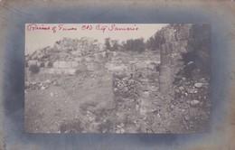 RUINS OLD CITY SAMARIA ANCIENT. EXCAVATIONS BY HARVARD UNIVERSITY CIRCA 1908-RARE- BLEUP - Postkaarten