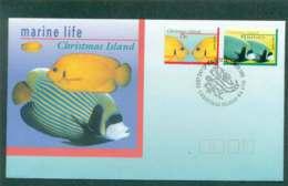 Christmas Is 1995 Marine Life I, 75, $1 FDC Lot48966 - Christmas Island