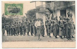 CPA - BOMA (CONGO) - Groupe De Prisonniers à La Chaîne - Congo - Kinshasa (ex-Zaïre)