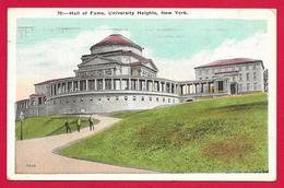 CPA États Unis - New York - University Heights - Hall Of Fame - Bronx