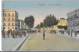 18-208- CPA PALERMO, Via Della Libertà, Voyagée En 1916, Bon état - Palermo