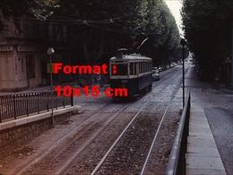 Reproduction D'une Photographie D'un Tramway à Marseille En 1964 - Reproductions