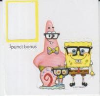 Sticker - Spongebob SquarePants - Adhesive Sticker  - BD Comics Cartoons - 42/42 Mm - Stickers