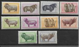 Mongolie N°124/133 - Neufs ** Sans Charnière - TB - Mongolie
