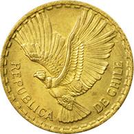 Monnaie, Chile, 10 Centesimos, 1966, TTB, Aluminum-Bronze, KM:191 - Chile