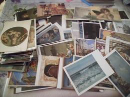 LOT DE 250 CARTES ART ..TABLEAUX ...PEINTURE ... - Cartes Postales