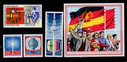 DDR 1507 1511 20 Jahre DDR / Fernsehturm / ** MNH Neuf - DDR