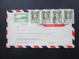 Iran Air Mail / Luftpost An Der Weserwert Schiffs Und Maschinenbau Minden Westfalen. - Iran