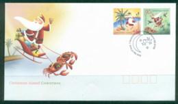 Christmas Is 2005 Xmas FDC - Christmas Island
