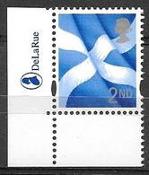 GB - 2003  2nd Class SCOTLAND -  Stamp With DLR LOGO - Escocia