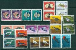 Cocos Keeling Is 1969 Fish/Birds Pairs MUH Lot23994 - Cocos (Keeling) Islands