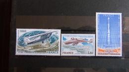 Timbres Poste Aérienne YT 50à52 - 1960-.... Nuevos