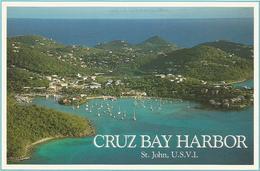 V2628 Virgin Islands - Cruz Bay Harbor - St. John / Non Viaggiata - Isole Vergini Americane