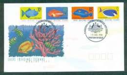 Cocos Keeling Is 1996 Marine Life II, 30,45,85c,$2, Parliament House FDC Lot49005 - Cocos (Keeling) Islands