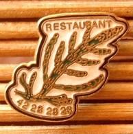 Joli Pin's Restaurant, émail Grand Feu, Belle Qualité, Pins Pin. - Food