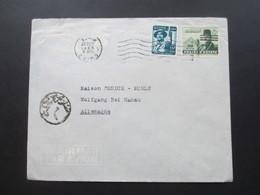 Ägypten 1960 ?! Luftpost / Air Mail Chafix & Co. - Maison Cundux - Mühle Wolfgang Bei Hanau - Cartas