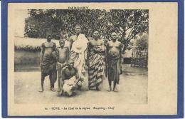 CPA Dahomey Afrique Noire Ethnic Type Cové Le Chef De La Région Non Circulé - Dahomey
