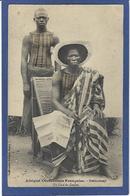 CPA Dahomey Afrique Noire Ethnic Type Non Circulé Un Chef De Canton - Dahomey
