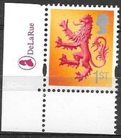 GB - 2003  1st Class SCOTLAND -  Stamp With DLR LOGO - Escocia