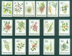 Norfolk Is 1984 Pictorials, Flowers MUH - Norfolk Island