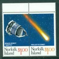 Norfolk Is 1986 Halleys Comet Pr MUH (lot21486) - Norfolk Island